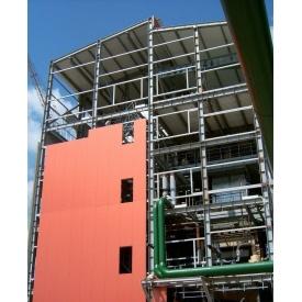 Монтаж сендвіч-панелі на олійноекстракційному заводі