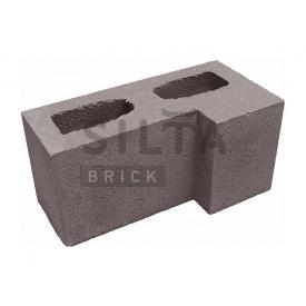 Блок гладкий Силта-Брик Цветной 34 угловой 390х190х190 мм