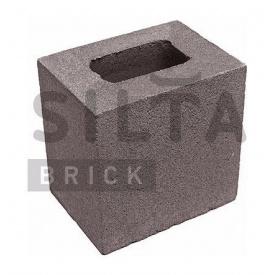 Напівблок гладкий Сілта-Брік Кольоровий 34 190х190х140 мм