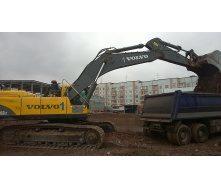 Оренда гусеничного екскаватора Volvo 240