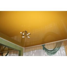 Натяжна стеля глянцева 0,17 мм золота