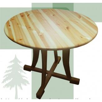 Дерев'яний обідній стіл