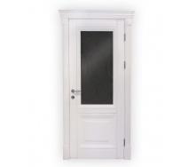 Дверь Lisma Модена + со стеклом 40х700х2100 мм белая