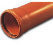 Труба канализационная ПВХ 110х3,2х1000 мм