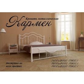 Металлическая кровать Кармен 1400х2000 мм