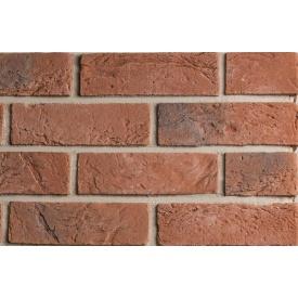 Плитка бетонна Einhorn під декоративний камінь бельгійський клінкер-620 64x205x15 мм