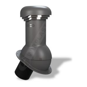 Вентиляційний вихід Wirplast Wirovent Normal Pro W05 125x440 мм графітовий RAL 7024