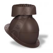 Фановый выход Wirplast Normal K83 110х265 мм коричневый RAL 8017