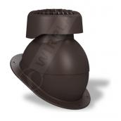 Фановый выход Wirplast Normal K83 110х265 мм коричневый RAL 8019