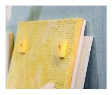 Панель ЗІПС-III-Ультра для шумоізоляції стін і стелі 1200х600x42,5 мм