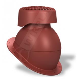 Фановый выход Wirplast Normal K83 110х265 мм красный RAL 3009
