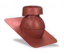Фановый выход Wirplast Standard K82 110х265 мм красный RAL 3009