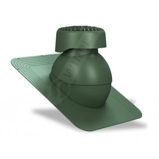 Фановый выход Wirplast Standard K82 110х265 мм зеленый RAL 6020