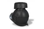 Фановый выход Wirplast Perfekta K84 110х265 мм черный RAL 9005