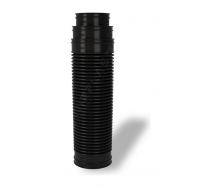 Перехідник для вентиляційних виходів Wirplast Ruroflex U61 150x600 мм чорний RAL 9005
