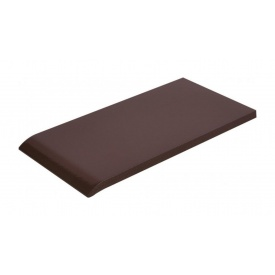 Плитка для парапету Cerrad гладенька 135х245х13 мм braz