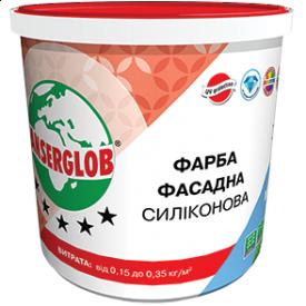 Фарба фасадна Anserglob універсальна силіконова 15 кг
