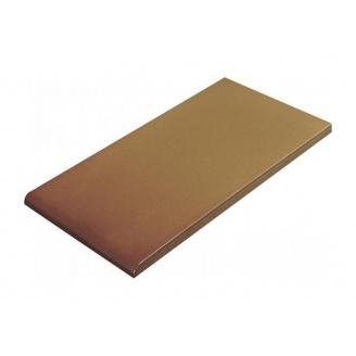 Плитка для парапета Cerrad гладкая 100х200х13 мм miodowy глазурованный
