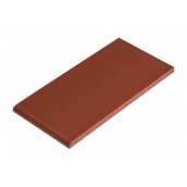 Плитка для парапета Cerrad гладкая 148х350х13 мм burgund