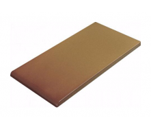Плитка для парапета Cerrad гладкая 148х300х13 мм miodowy глазурованный