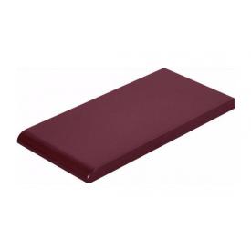 Плитка для парапету Cerrad гладенька 148х300х13 мм wisnia глазурований