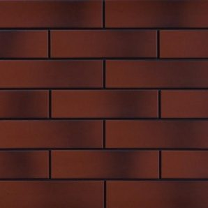Фасадна плитка Cerrad гладка 245х65х6,5 мм burgund cieniowany