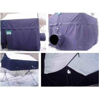 Палатка Вахтовик 2,2х2,5х2,5 м