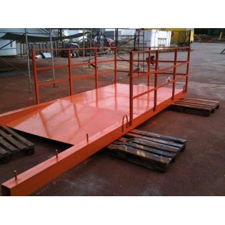 Выносная площадка для каменщиков 1100х2000х5000 мм