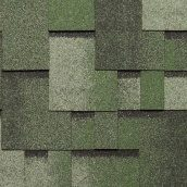 Битумная черепица NORDLAND Альпин 3х337х1000 мм зеленый с отливом