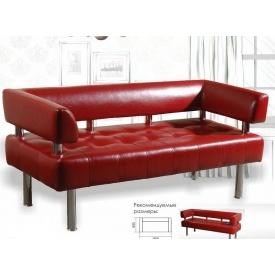 Офисный диванчик Sentenzo Тонус 600х1600 мм красный