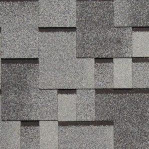 Битумная черепица NORDLAND Альпин 3х337х1000 мм серый с отливом