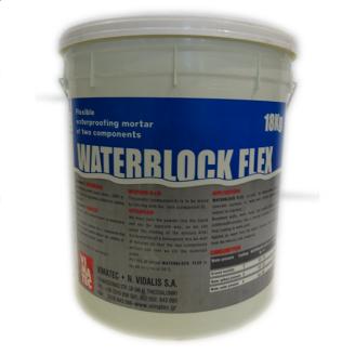 Гидроизоляционный раствор VIMATEC WATERBLOCK FLEX 18 кг