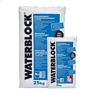 Гидроизоляционная смесь VIMATEC WATERBLOCK 25 кг белая