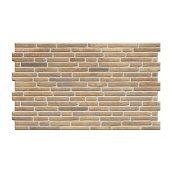 Фасадная плитка Cerrad Tulsi структурная 490x300x10 мм brick