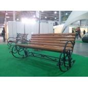 Крісло-гойдалка Ручна робота XXI Століття 3-х місцева 20х20 мм
