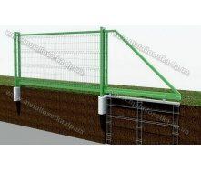 Ворота откатные автоматические 5000x2000 мм