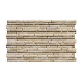 Фасадная плитка Cerrad Tulsi структурная 490x300x10 мм desert