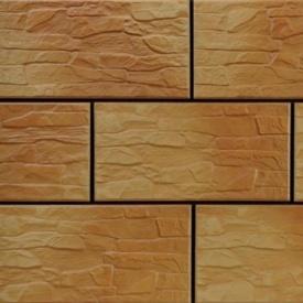 Фасадна плитка Cerrad CER 5 структурна 300x148x9 мм dark gobi