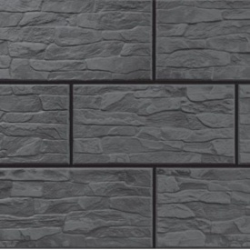 Фасадна плитка Cerrad CER 7 структурна 300x148x9 мм steely
