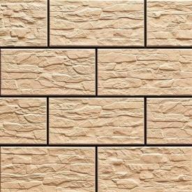Фасадна плитка Cerrad CER 9 структурна 300x148x9 мм cream