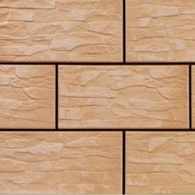 Фасадна плитка Cerrad CER 10 структурна 300x148x9 мм ecru