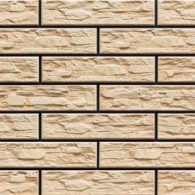 Плитка фасадна Cerrad CER 9 bis структурна 300x74x9 мм cream