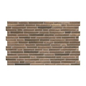 Фасадна плитка Cerrad Tulsi структурна 490x300x10 мм terra