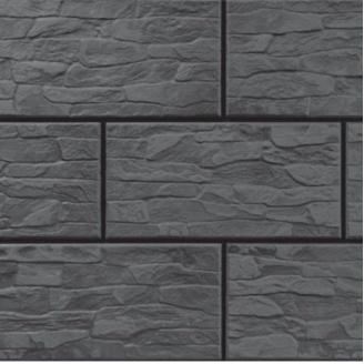 Фасадная плитка Cerrad CER 7 структурная 300x148x9 мм steely