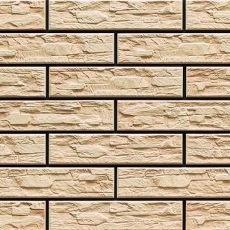 Плитка фасадная Cerrad CER 9 bis структурная 300x74x9 мм cream