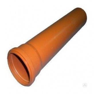 Канализационная труба ПВХ Мпласт 200x4,9х3000 мм