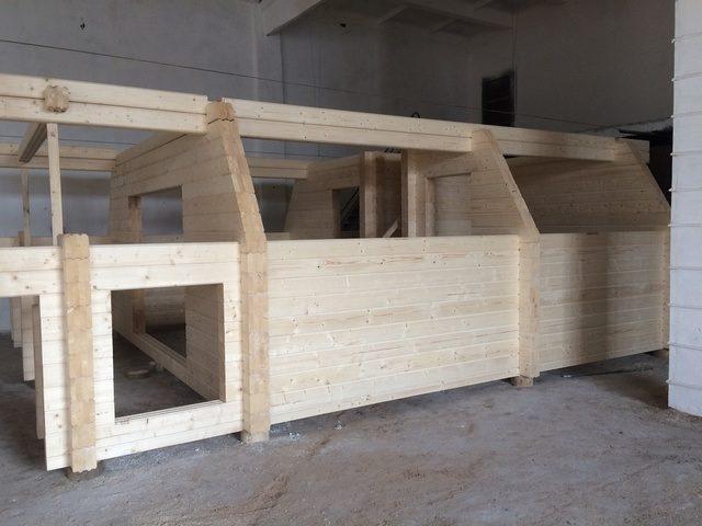Строительство домиков из клеенного бруса