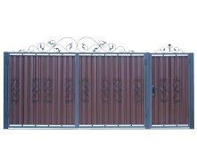 Кованые ворота В-03 3450х1900 мм