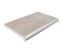 Подоконник Plastolit глянцевый 150 мм серый мрамор