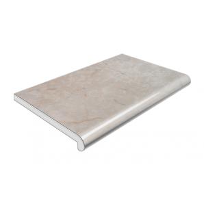Підвіконня Plastolit глянцеве 400 мм сірий мармур